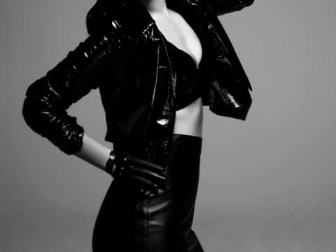 Tulisa Contostavlos ditches urban roots for glamorous leather photoshoot