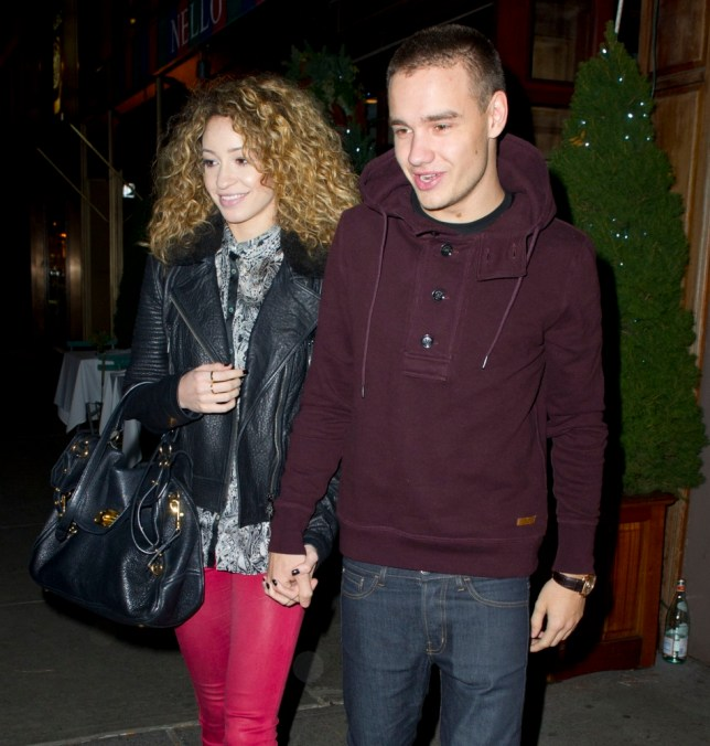 One Direction's Liam Payne with his girlfriend Danielle Peazer