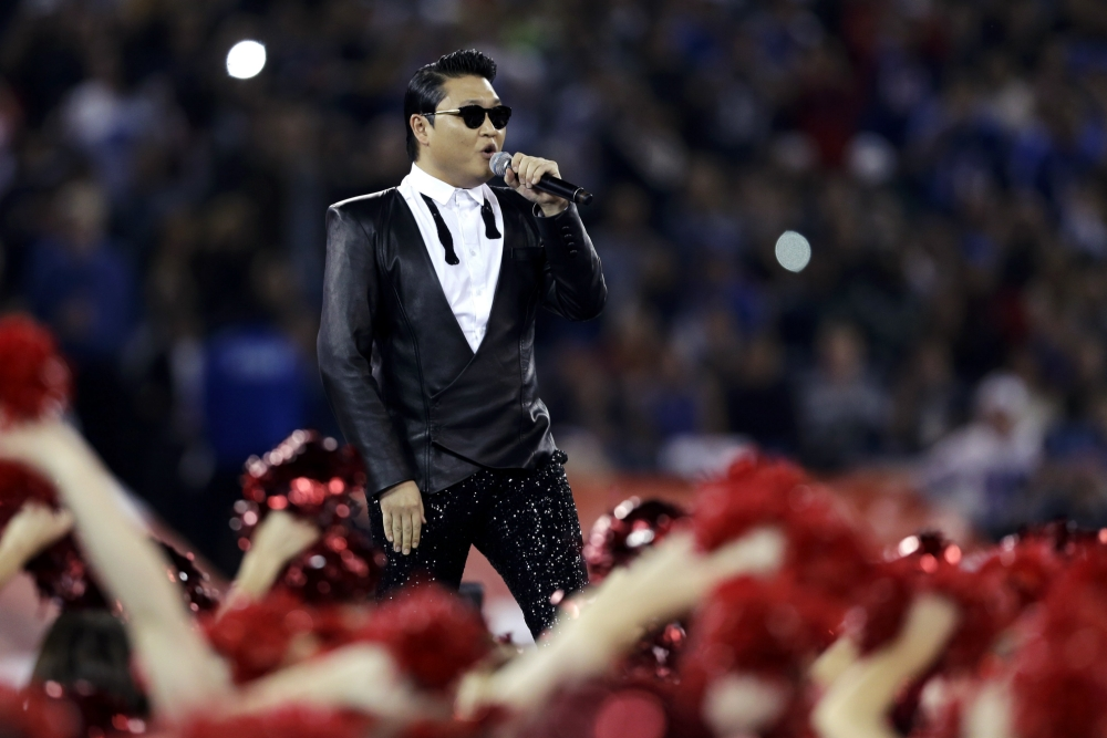Got Talent: Psy has been booked to perform on Britain's Got Talent on Saturday (Picture: AP)