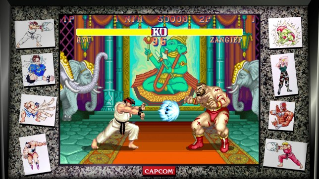 Game Review Street Fighter 30th Anniversary Collection Is Arcade