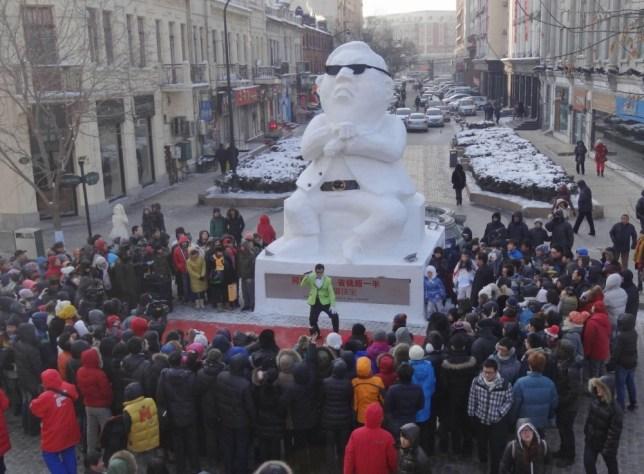 Snowman Psy