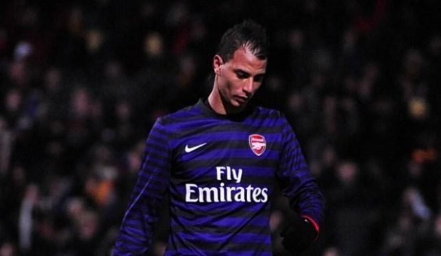 Arsenal's Marouane Chamakh