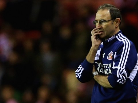 Bookies backing Martin O'Neill to be axed if Sunderland suffer Reading defeat