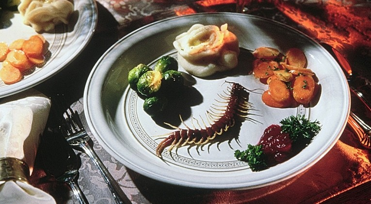 Roast bugs: Could your Christmas lunch look something like this? (Picture: File)