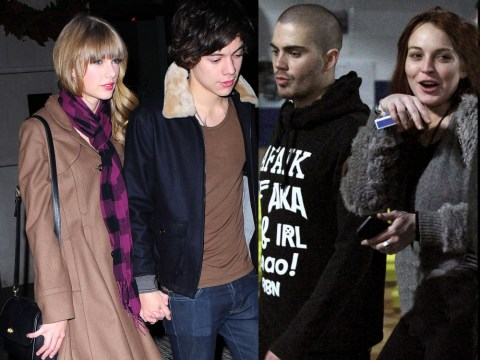 Harry Styles and Taylor Swift v Max George and Lindsay Lohan: Celebrity Face Off