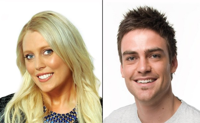 2Day FM presenters Mel Greig (left) and Michael Christian (Picture: AFP/Getty)
