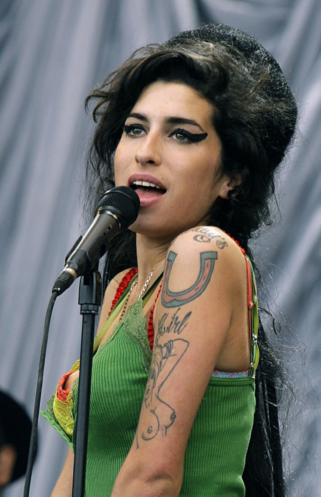 Birthday celebration: Amy Winehouse will have what would have been her 30th marked by a month of events in Camden this September (Picture: PA)