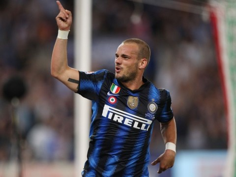Wesley Sneijder begs advisors to land him last-gasp move to England
