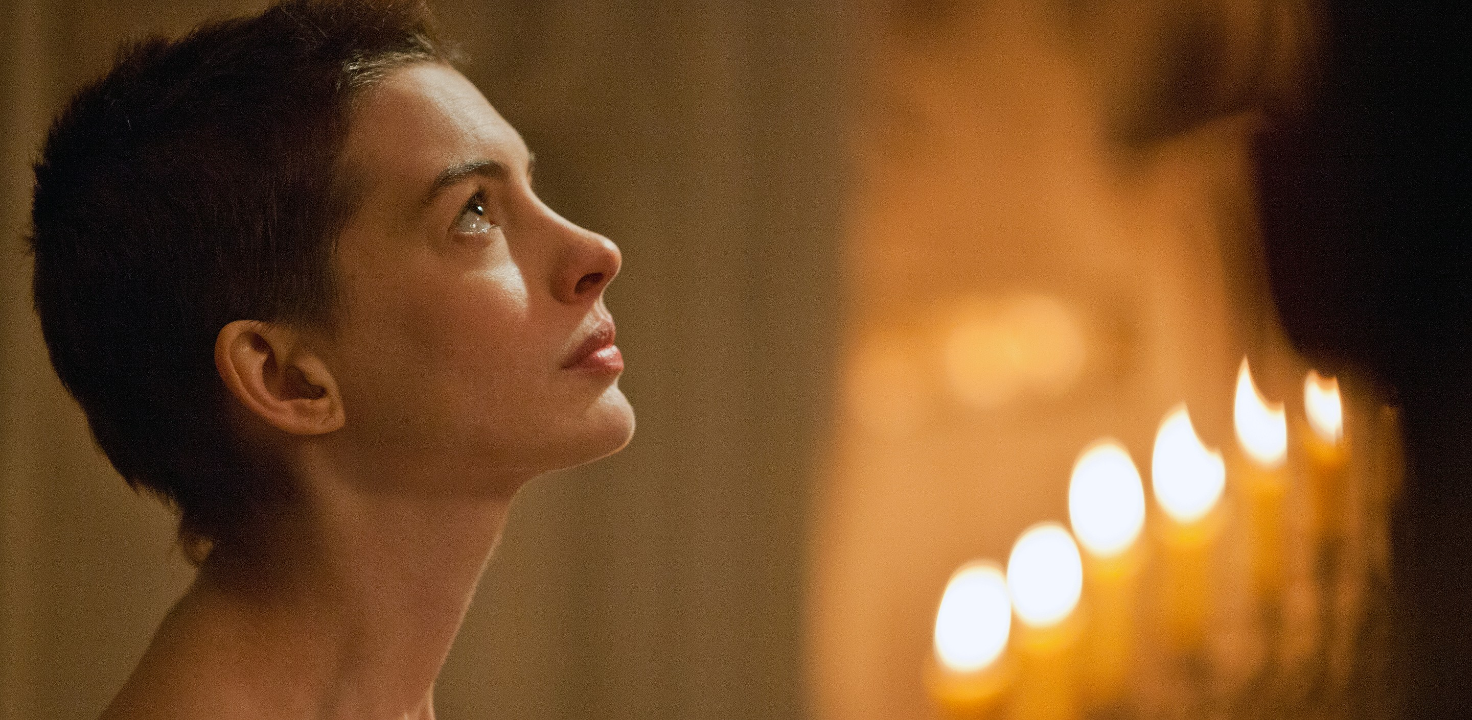 Anne Hathaway sings I Dreamed A Dream in Les Miserables (Picture: Universal Pictures)