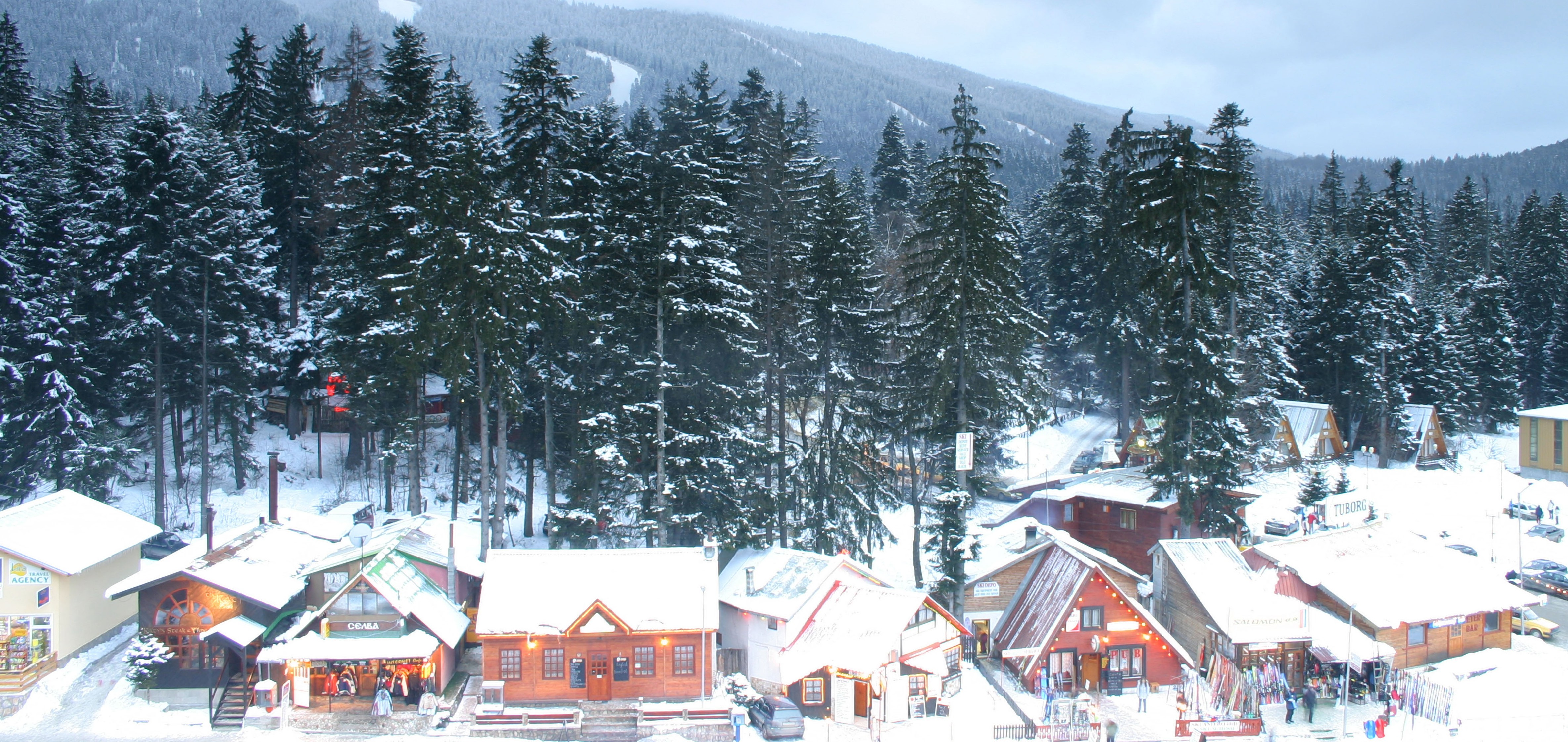 Price is right: Borovets is an inexpensive place to ski (Picture: Alamy)