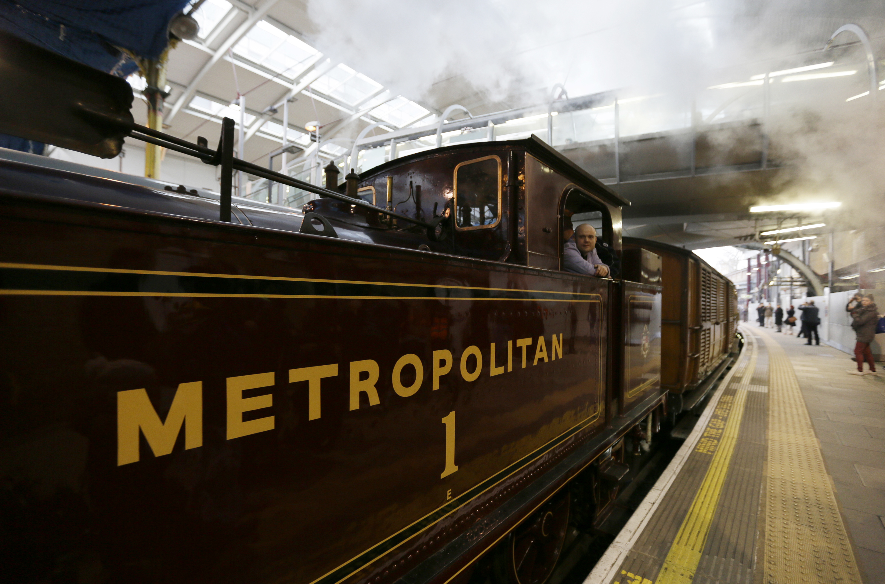 Gallery: The Tube celebrates 150 years of service – 13 January 2013
