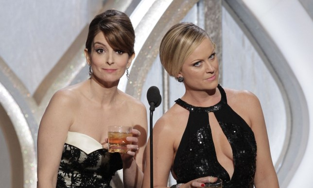 Tina Fey hosted this year's Golden Gloves with Amy Poehler
