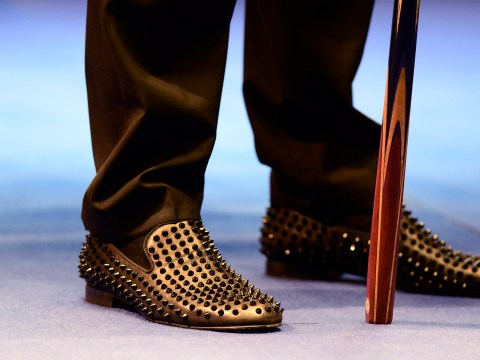 Snooker star Judd Trump slips up with his choice of slip-ons