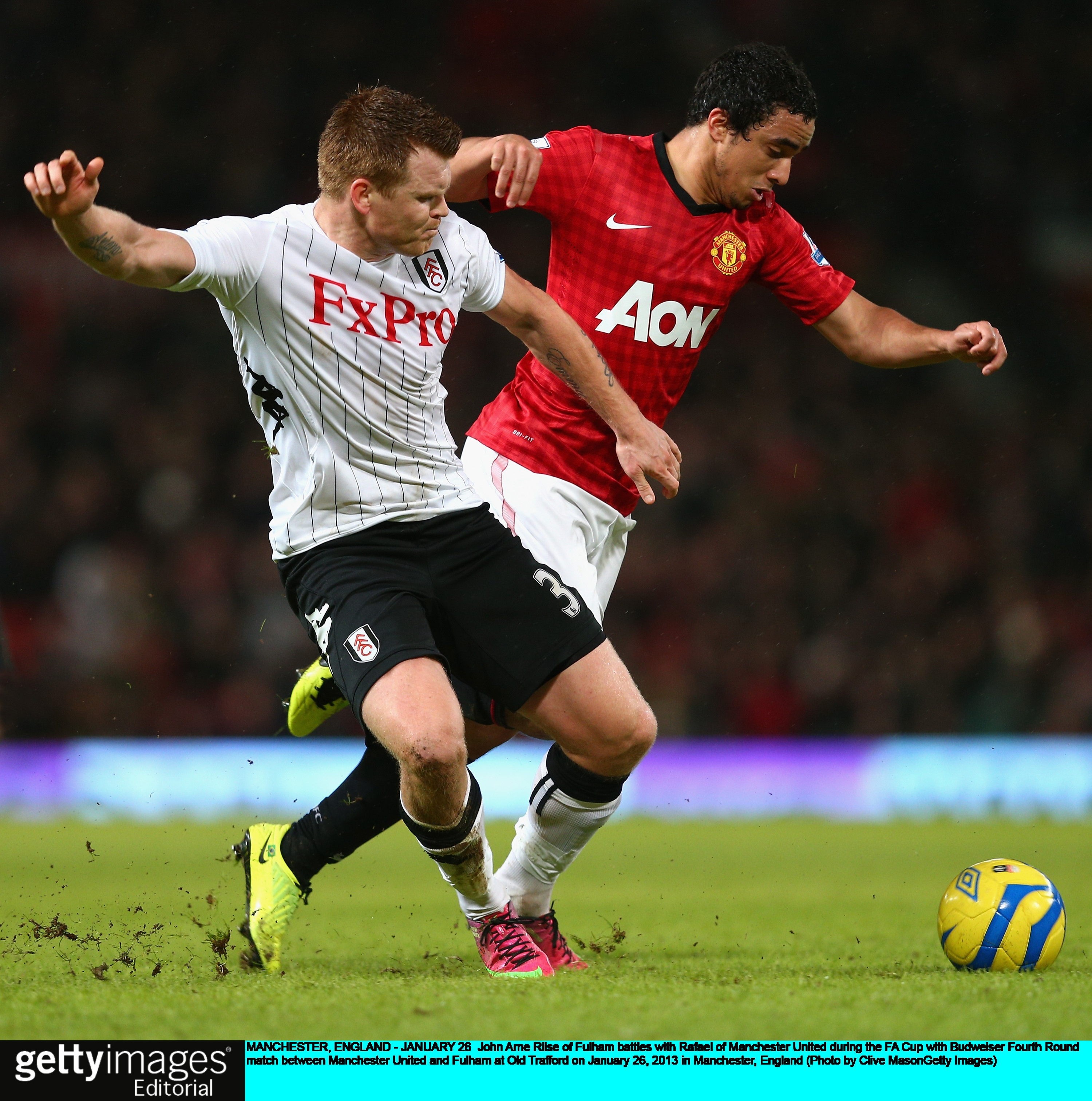 Gallery: Manchester United v Fulham – FA Cup – 26 January