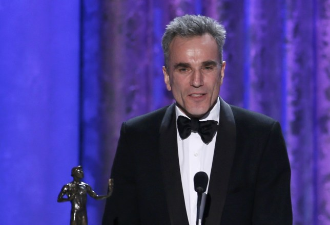 Daniel Day-Lewis adds a Screen Actors Guild prize to his awards haul (Picture: Reuters)