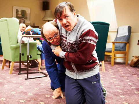 Derek showed Ricky Gervais' sentimental side while remaining disarmingly funny
