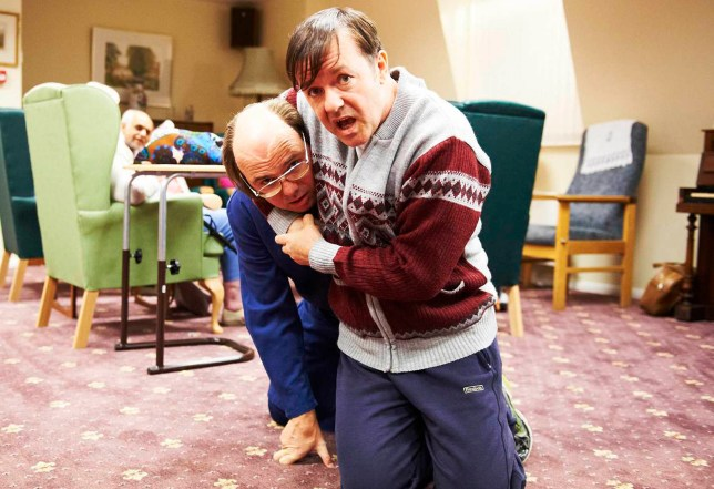 Ricky Gervais says Derek is a show about kindness (Picture: Channel 4)