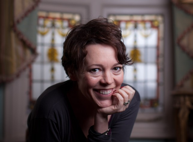 Olivia Colman hasn't been deluged with Hollywood offers (Picture: Jason Alden)