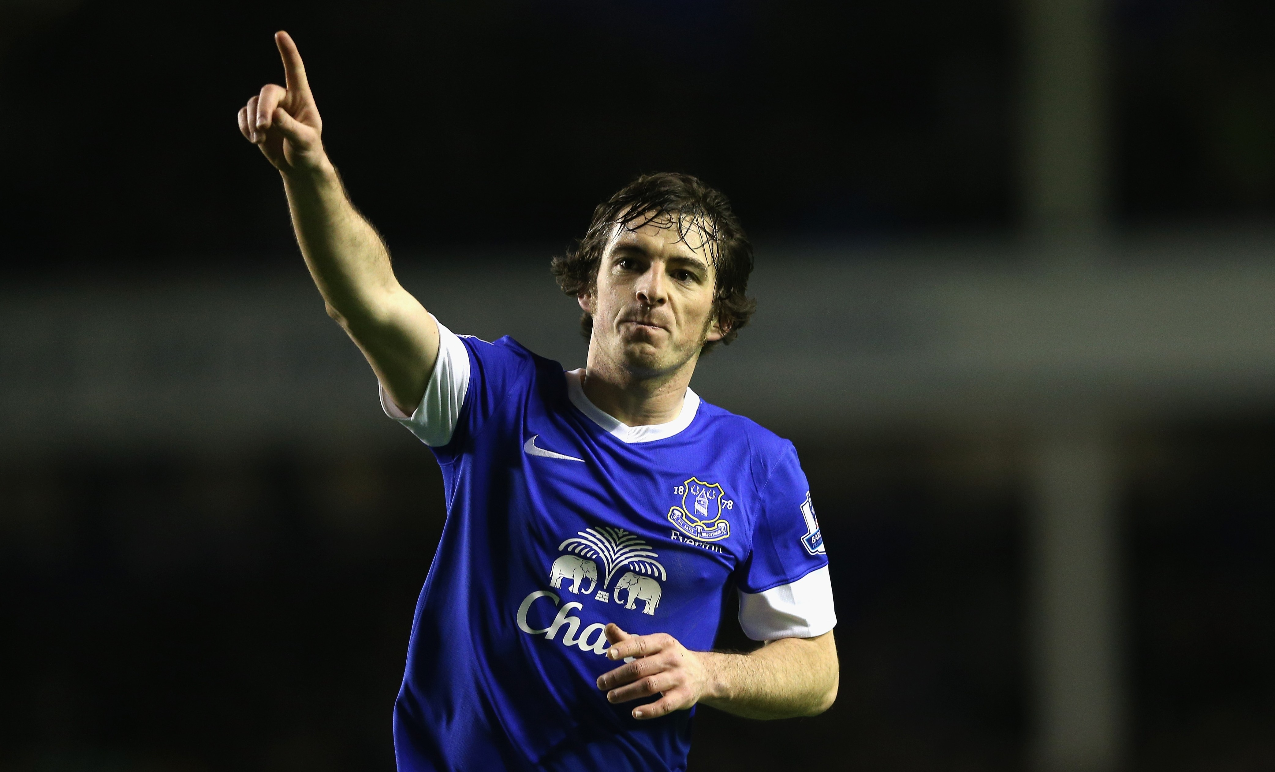 In form: Baines has been excellent for Everton this season (Picture: Getty)