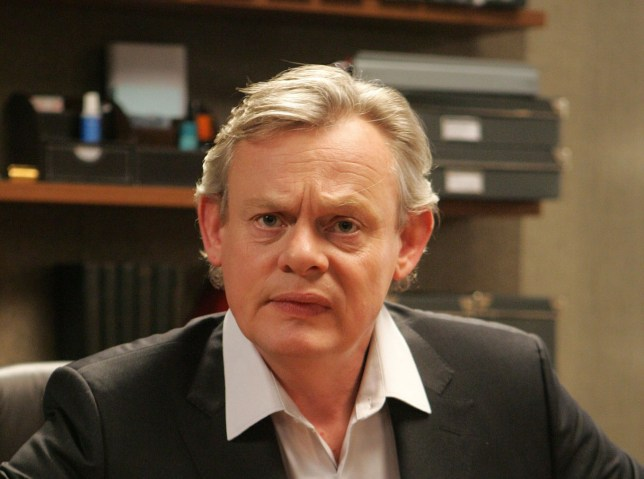 Martin Clunes says he was surprised to be dropped from the Churchill TV campaign (Picture: BBC)