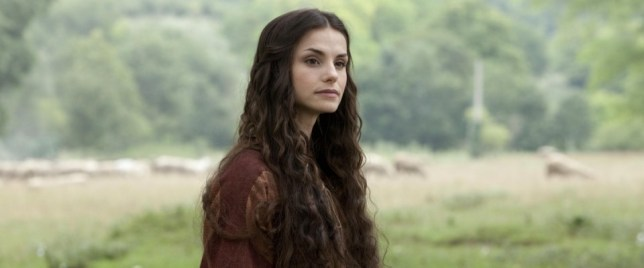 Charlotte Riley stars in World Without End (Picture: Channel 4)