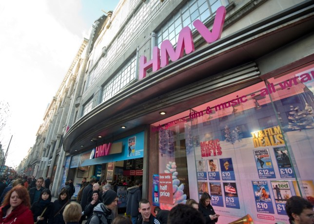 HMV tries new tactic to bring customers back to the high street
