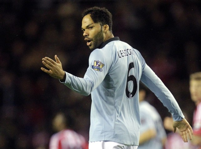 Joleon Lescott has seen his playing time at Manchester City limited this season (Picture: AFP)