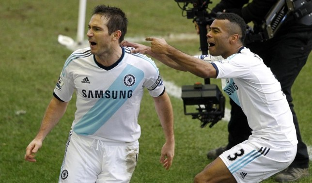 Frank Lampard (left) and Ashley Cole