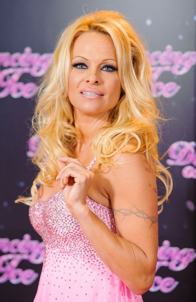 Dancing On Ice star Pamela Anderson: It's easy to fall in love with your dance partners