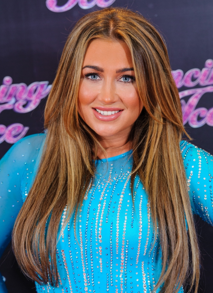 Lauren Goodger 'taking belly dancing lessons to boost Dancing On Ice chances'