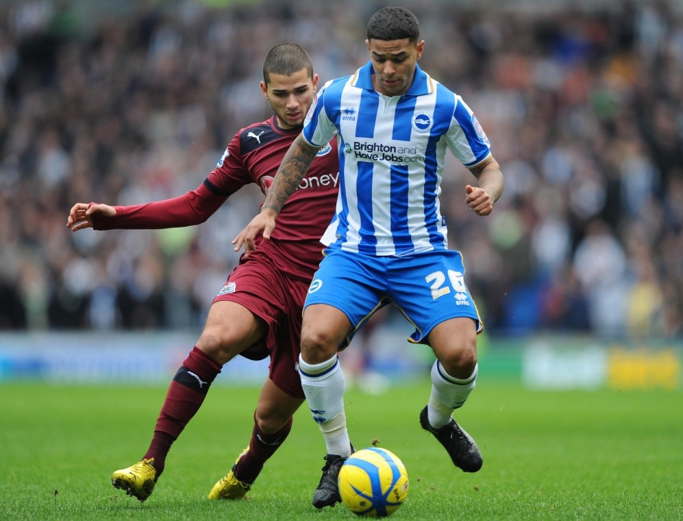 Liam Bridcutt put in a man of the match display against Newcastle (Picture: Reuters/Action Images)