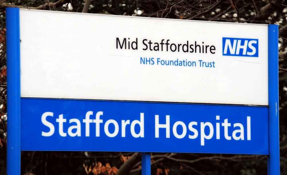 NHS, Stafford hospital