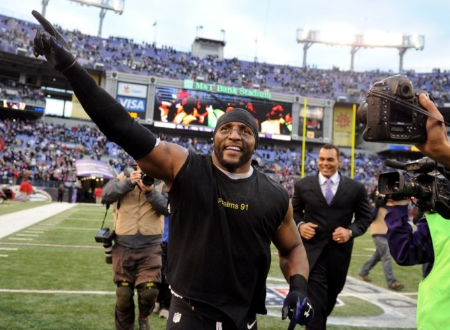 Farewell tour: Ray Lewis bows out on Sunday (Picture: Getty)