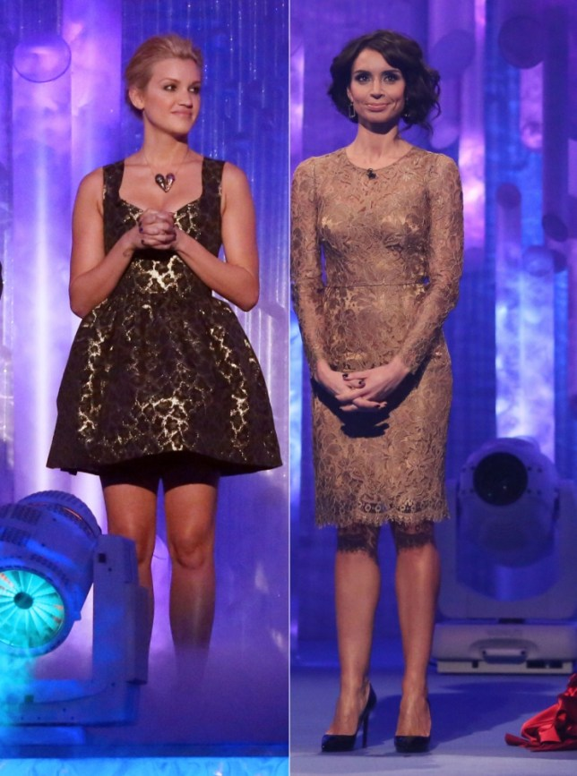 Christine Bleakley and Ashley Roberts
