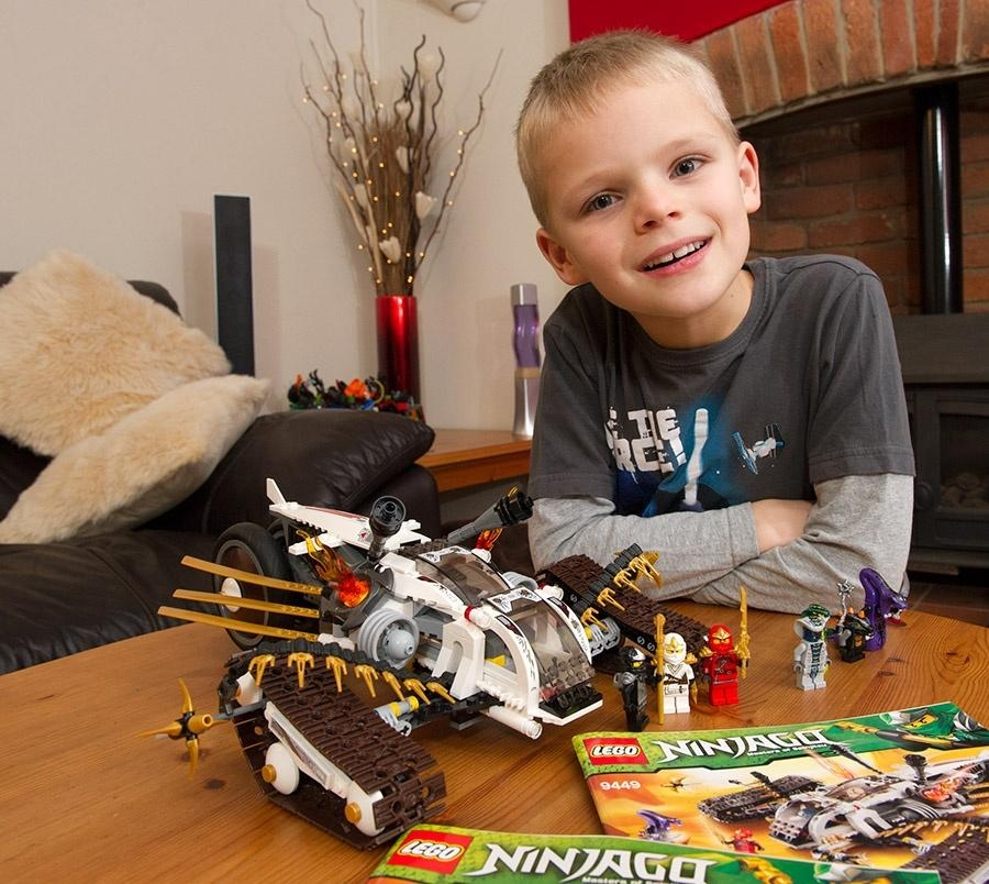 Lego replaces 7-year-old boy's lost toy after he emails asking for a new one