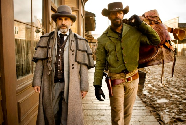 Christoph Waltz and Jamie Foxx in Django Unchained (PIcture: AP/The Weinstein Company)