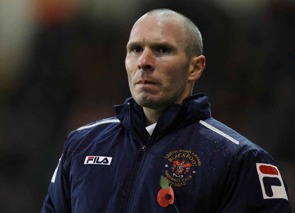 Blackpool boss Michael Appleton close to Blackburn switch