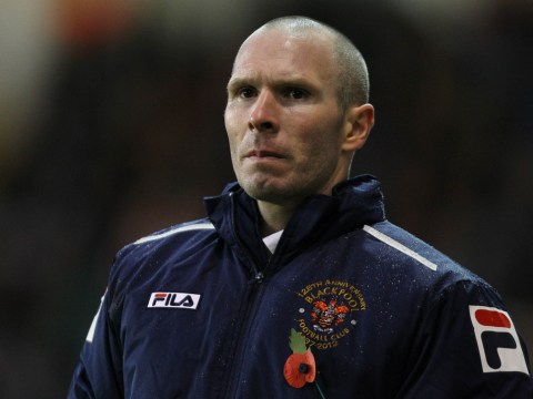 Blackpool boss Michael Appleton close to Blackburn switch