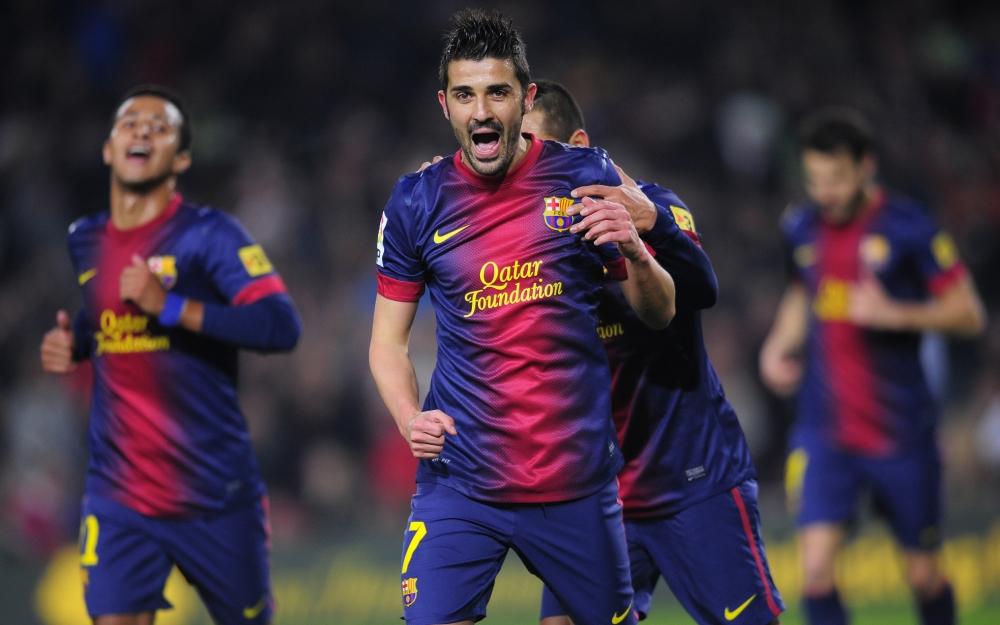 Barcelona's David Villa