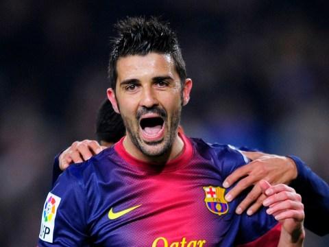 Tottenham close to sealing deal for Barcelona striker David Villa
