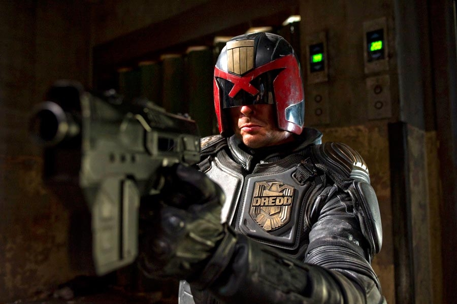 Dredd is heavy on the violence, but gets away with it