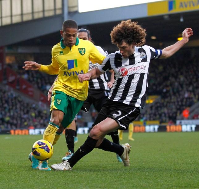 Newcastle United's Argentinian defender Fabricio Coloccini