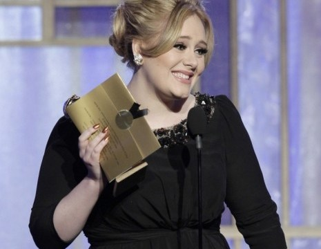 Adele dedicates Golden Globe to her son as she keeps tight-lipped over his name