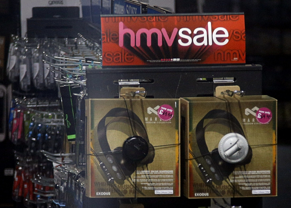 HMV 'attracts interest' from Hilco, Game and Jonathan Ross