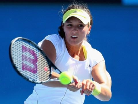 Triumphant Laura Robson sets up second round match with Petra Kvitova