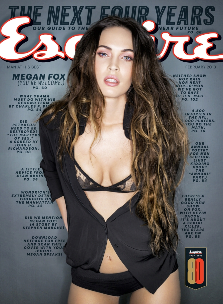 Megan Fox strips down to her undies in provocative photo shoot