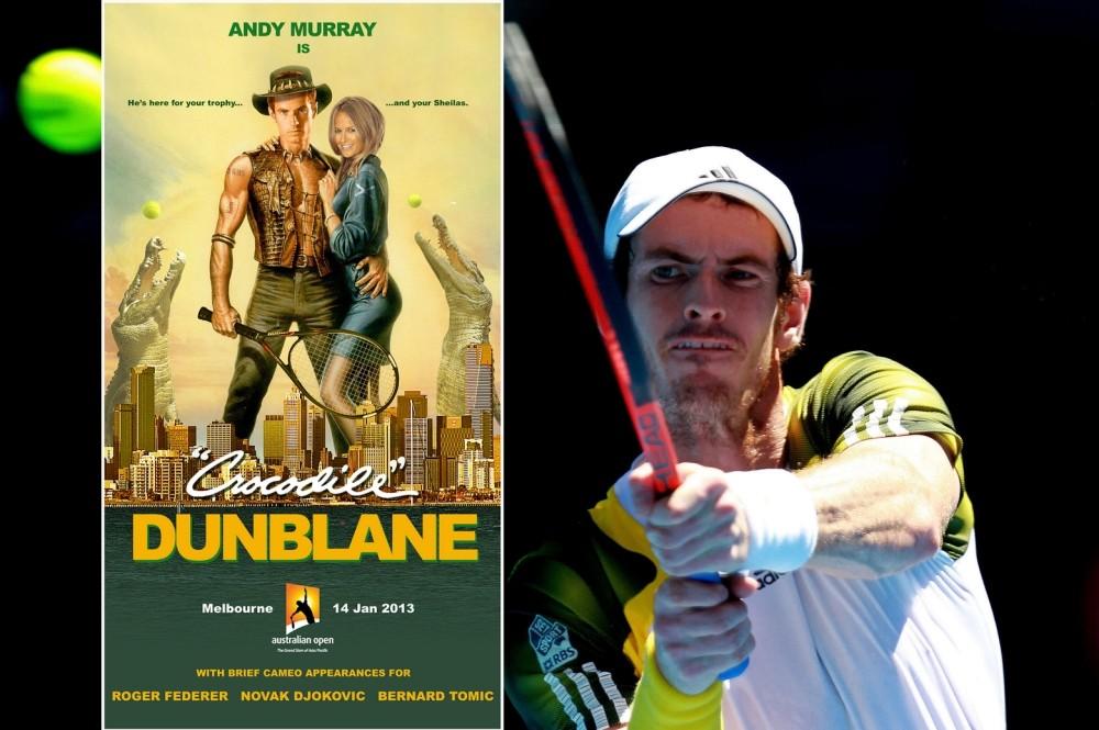 Andy Murray's Crocodile Dunblane poster