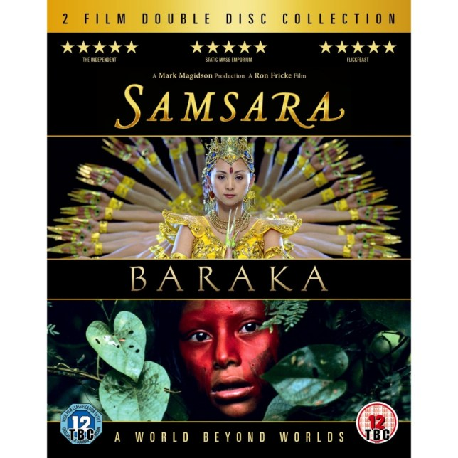 Samsara and Baraka lend themselves to the Blu-ray era
