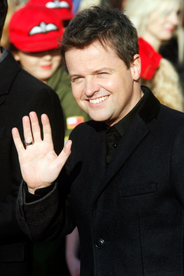 Declan Donnelly arrives for Britain's Got Talent  first round of auditions (AP)