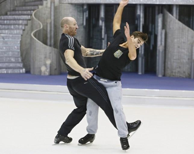 Gareth Thomas and Matt Lapinskas